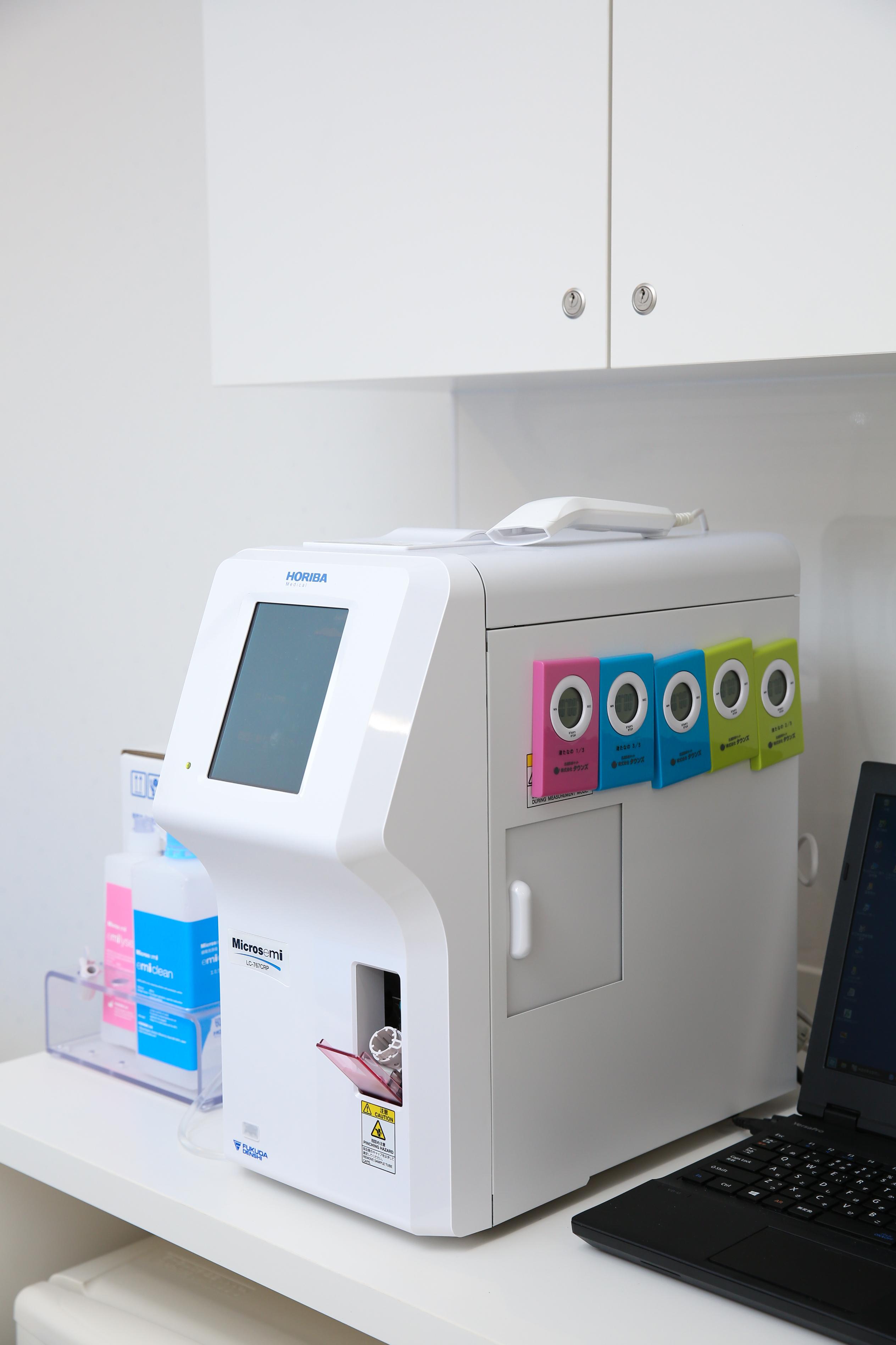 血算・CRP(炎症反応)迅速測定器
